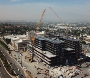 Overall site - Loma Linda - Schuff Steel